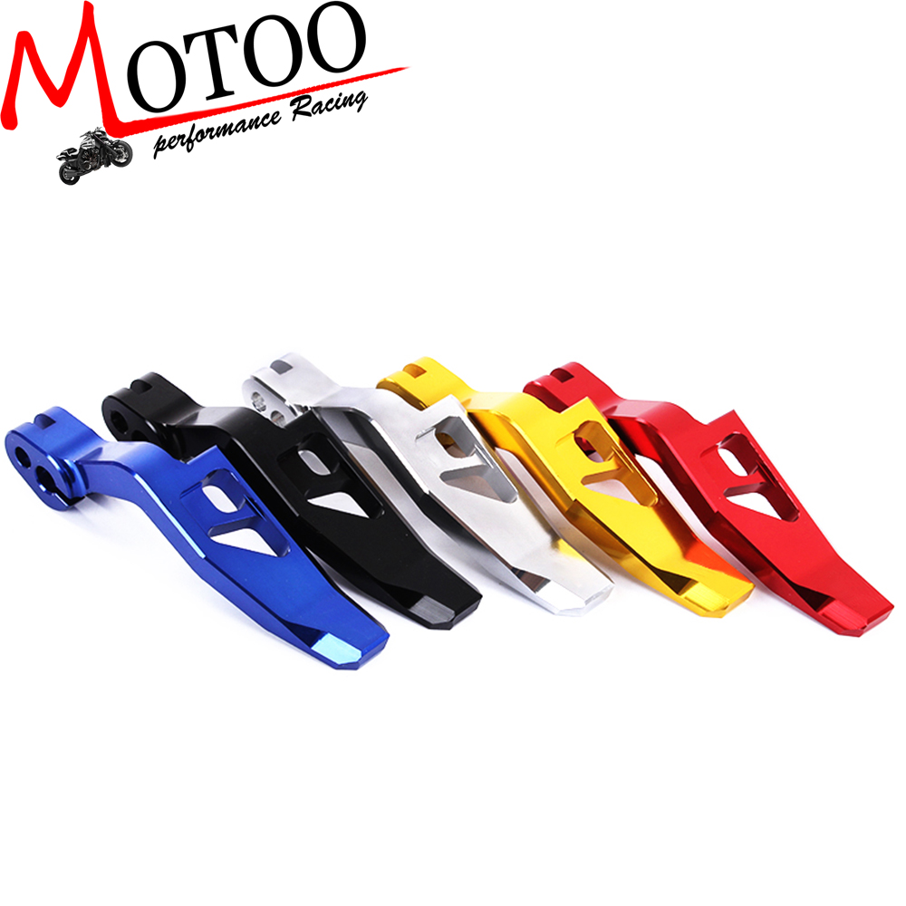 Motoo - Motorcycle CNC Aluminum Parking Brake Lever For Yamaha TMAX 500 530