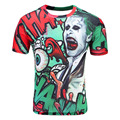 SYJON Suicide squad men 3d t shirt Harley Quinn joker deadshot tshirt male Rick Flag mens shirts Boomerang Suicide squad