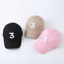 c776e5f1b1735 Haute qualité coton rappeur 3 Chapeau Cap Noir Lettre Broderie Casquette de baseball  Hip Hop Streetwear Strapback Snapback Chape.