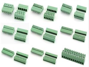 2EDGK-3.81 2/3/4/5/6/7/8/9/10/11/12 контактный прямой разъем типа 300 В 8A 15EDG 3,81 мм Pcb Клеммная колодка