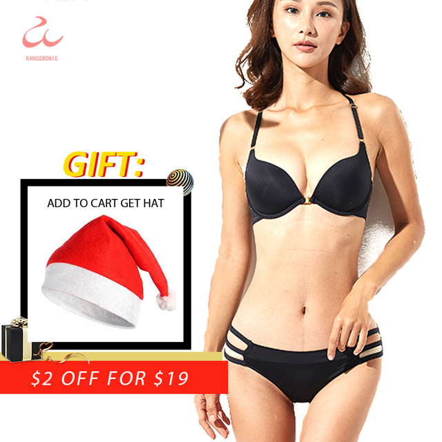 ff46a85eae Kang Bowie Push Up Women s Bra Sets Kit Front Magnet Clasp Seamless Underwear  Panties Set Solid Ladies Fancy V Bras 36 38BC Sets