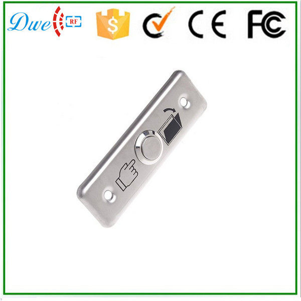 цена на DWE CC RF com nc stainless steel exit button switch 12V free shipping