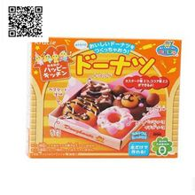 1bag Popin Cook Happy Donut DIY Toys.Kracie cookin happy kitchen Japanese candy making kit ramen.Free shiping