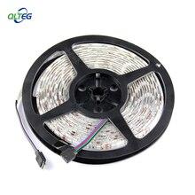 LED strip 5050 SMD DC 12V flexible light 60LED/m, 5m 300LED,White,White warm,Blue,Green,Red,Yellow