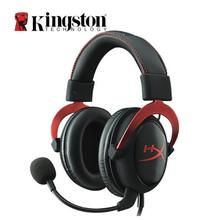 Kingston Cloud II Headset Hi-Fi 7.1 Surround Sound Gaming Headphone with Microphone For Computer Cellphone kingston hyperx cloud ii headset hi fi 7 1 surround sound gaming headphone with microphone 3 5mm for computer cellphone earphone
