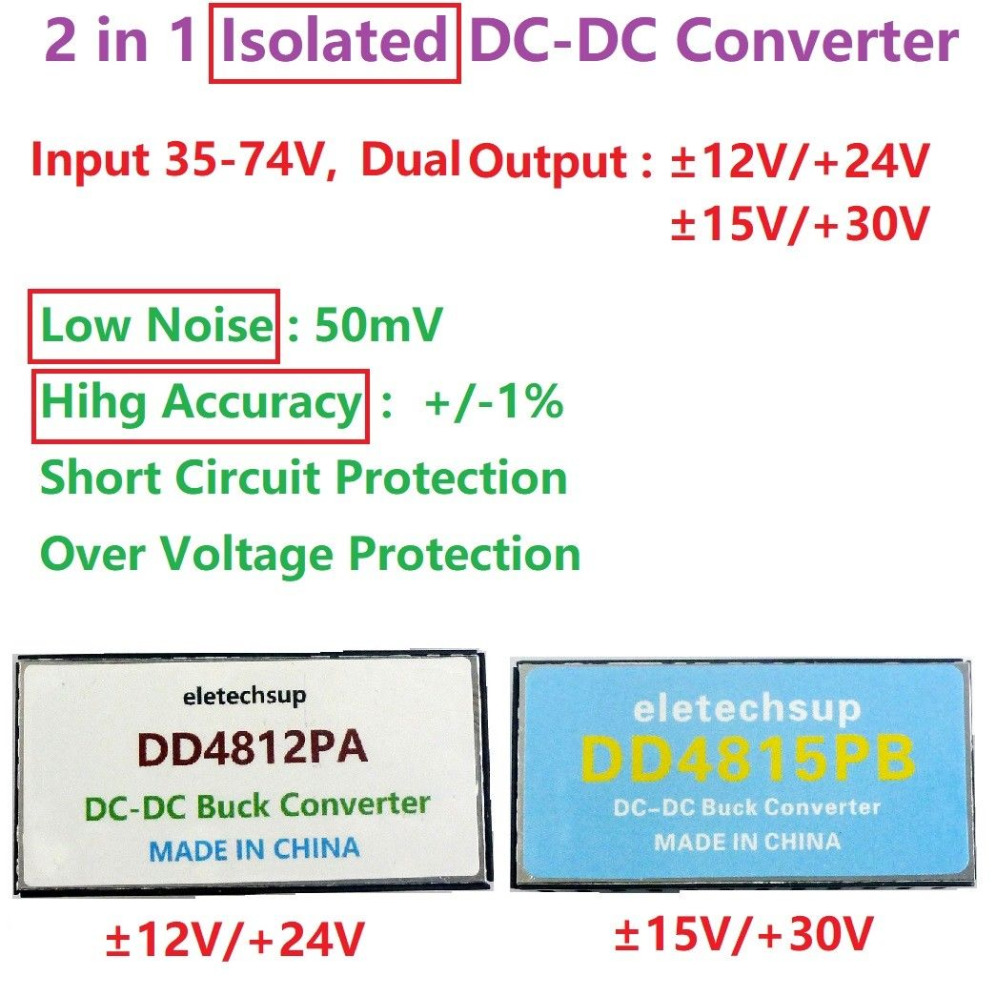 Aweking Waterproof DC//DC 48V Step Down to 12V 25A 300W Voltage Buck Converter Regulator Transformer Power Supply for Car Truck Vehicle CE listed