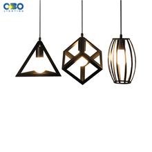 Pendant Lights Bar Vintage Iron Black/White Painted Shop/Dining Room Pendant Lamp Indoor Dropping E27 Lamp Holder 110-240V цена 2017