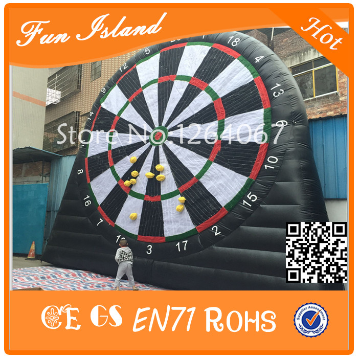 Free Shipping 4m Giant Inflatable Football Dart ,Inflatable Shooting Wall For Sale,Inflatable Target Football Wall ao058m 2m hot selling inflatable advertising helium balloon ball pvc helium balioon inflatable sphere sky balloon for sale