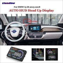 Liandlee dla BMW i3 i8 E90 E39 2013 2018 OBD bezpieczny ekran jazdy samochód HUD wyświetlacz Head Up projektor reflecting szyba przednia w Wyświetlacz projekcyjny od Samochody i motocykle na