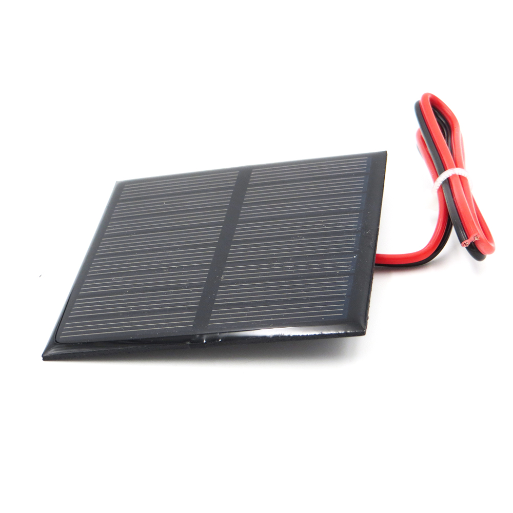1pc x 4V 160mA with 30cm extend wire Solar Panel Polycrystalline Silicon DIY Battery Charger Small Mini Solar Cell cable toy