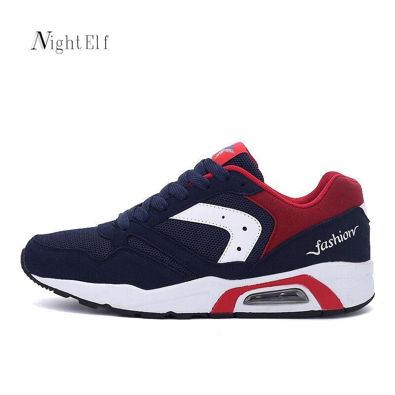 ᗔNight Elf hombres zapatos zapatillas de deporte respirables del ...