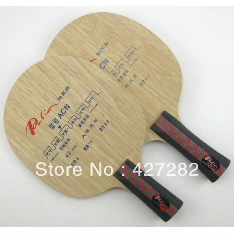 Original Palio ACN Pure Wood Table Tennis Blades Table Tennis Rackets Pure Wood Racquet Sports Pingpong Paddles
