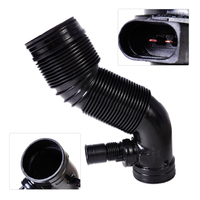 Beler 1Pc Black High Quality Air Intake Hose Pipe 1J0 129 684 NT 1J0129684CG Fit For