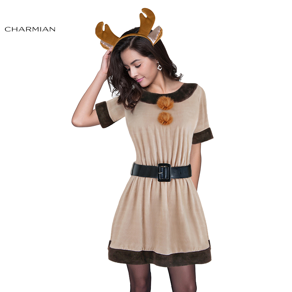 Sexy reindeer costumes reviews online shopping