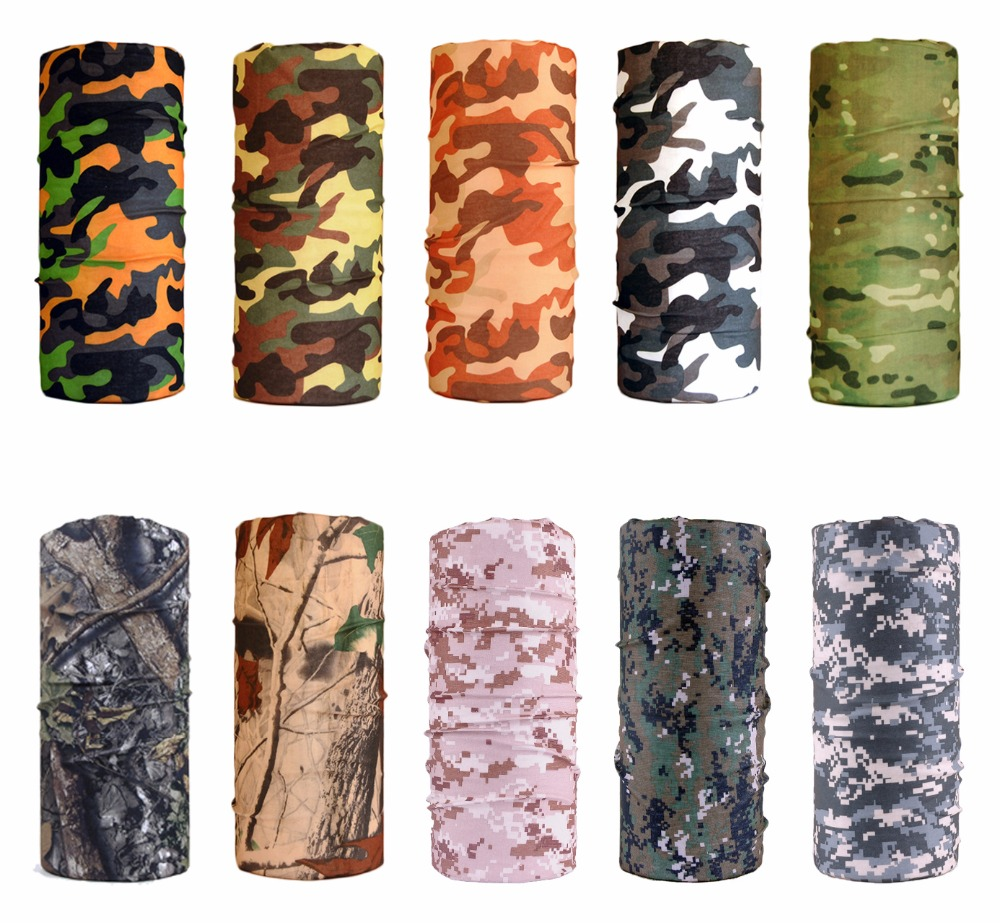 The ACME COLOR Military Army Camouflage Series Pattern Bandanas Sports Ride Scarf