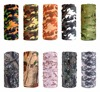 Military Army Camouflage Series pattern Bandanas Sports Ride Bicycle Motorcycle Turban Magic Headband Veil Scarf 1