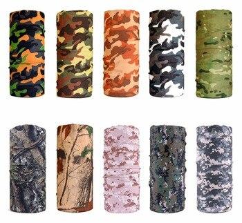 Military Army Camouflage Series pattern Bandanas Sports Ride Bicycle Motorcycle Turban Magic Headband Veil Scarf 1