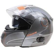 Профессиональный Двойной Объектив Флип мотоциклетный шлем Bluetooth мотоциклетный шлем DOT ЕЭК утверждено Туристический велосипед шлем street bike