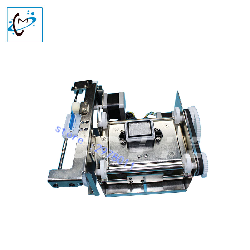 DX5 single head cleaning pump assembly Eco solvent plotter Gongzheng Zhongye Human thunderjet  capping pump clean kit  in stack hot sale uv flatbed plotter printer spare parts gongzheng gz thunderjet black sub ink tank with level sensor