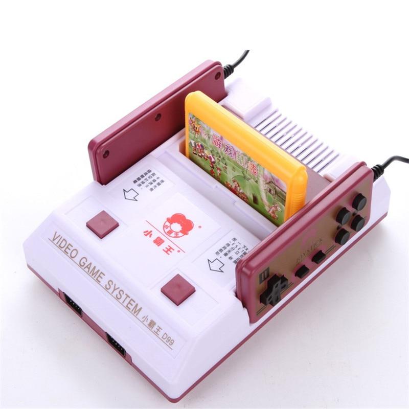 Nueva consola de videojuegos clásicos familia subor d99 tv video consolas de jue