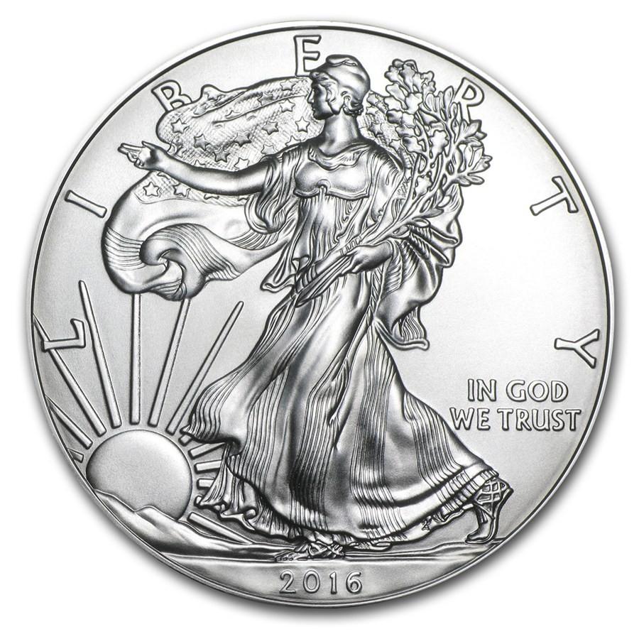 2016 1 oz Silver American Eagle Coin (2)