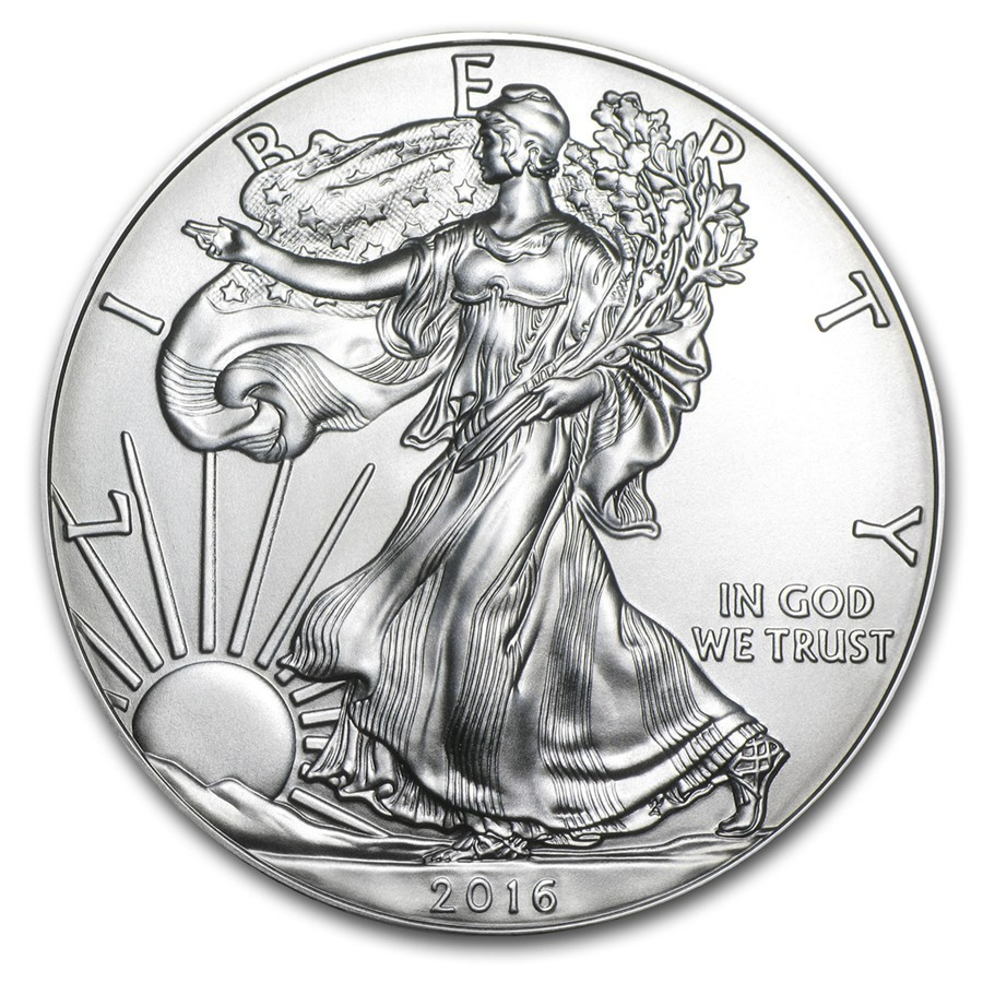 2016 1 oz Silver American Eagle Coin (2)
