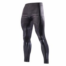 Avengers 3 Black Panther 3D imprimé collants de Compression pantalons hommes super-héros film 2018 Fitness Skinny Leggings pantalon homme(China)