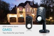 Mini PIR Systeme Cámara de Alarma GSM Casa de Seguridad Personal De Seguridad motion detector de visión nocturna mms sms tiempo real android ios App