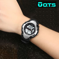 NEW OTS Digital Watches Men Fashion Sports 50M Professional Waterproof Large Dial Hours Military Outdoor Luminous