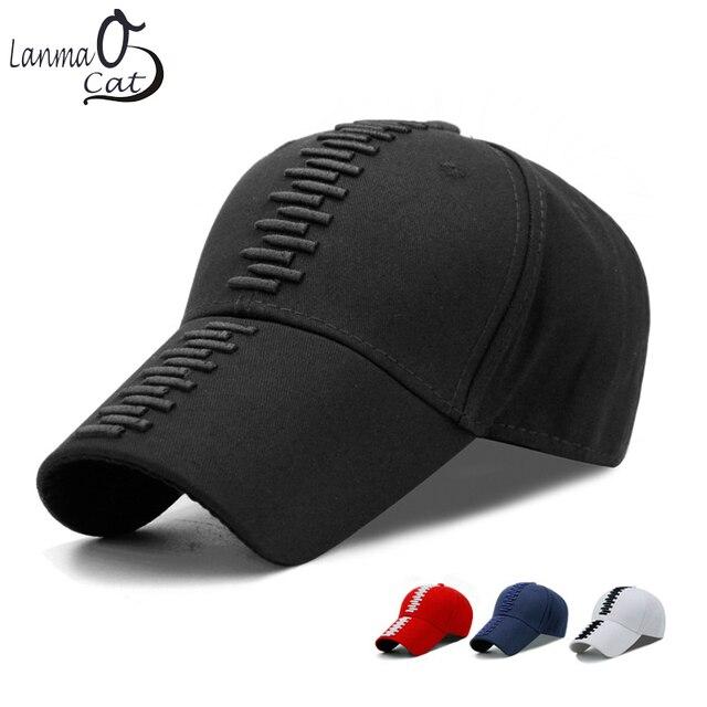 Lanmaocat Fashion 3D Bullet Embroidered Cap Man Woman 3D Embroidered Hat  Ball Cap Embroidery Cool Baseball Hat Free Shipping 3e42b3d07b3