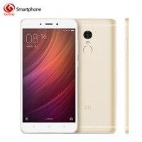 In Stock Xiaomi Redmi Note 4 3GB RAM 64GB ROM Mobile Phone MTK Helio X20 Deca Core 5.5