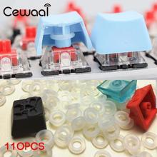 Cewaal 110 шт уплотнительное кольцо переключатель гасители для Cherry MX механическая клавиатура гасители брелки