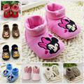 Baby Shoes Warm Comfortable Cute Baby Boots,winter Lovely Infant Shoes for first walkers age 0-18 month R1201