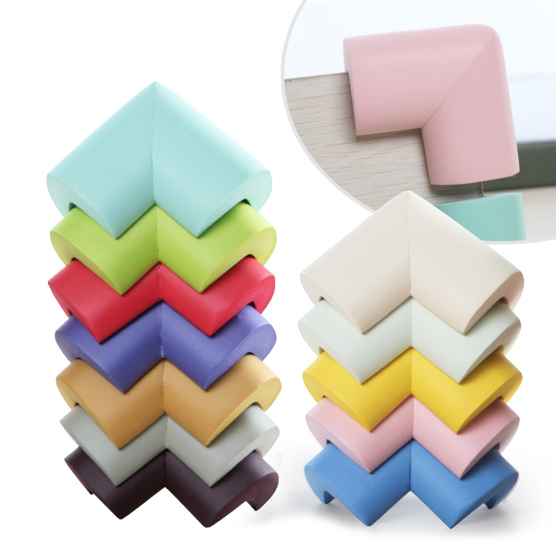 4Pcs Foam Baby Safety Corner Table Protector Soft Edge Corner Guards Child Safety Security Safe Proof Cushion Guards Protector