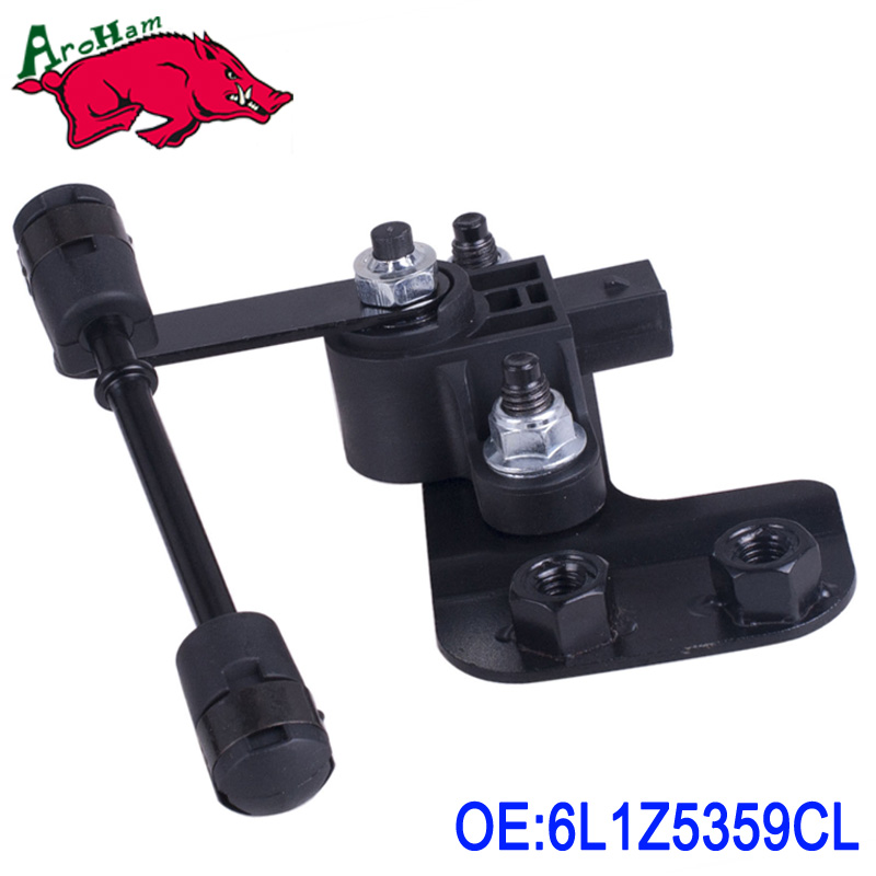 Harbll Auto Ride Leveling Height Sensor 6L1Z5359CL Front Left For 03-06 Ford Expedition Navigator thyssen parts leveling sensor yg 39g1k door zone switch leveling photoelectric sensors