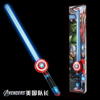 Avenger Super Hero Cosplay captain america Steve Rogers figure Light-Emitting&Sound Cosplay property Toy Metallic shield 2 style captain america shield steve rogers cosplay prop superhero shield pu props halloween party toy 2pcs set