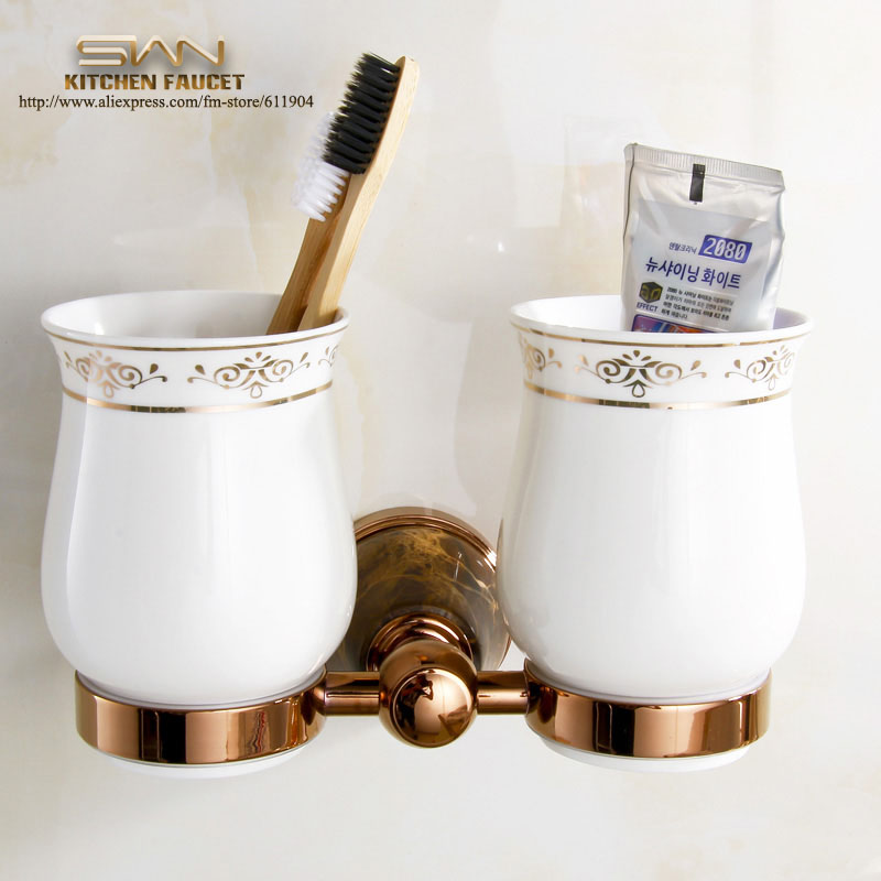 Free Shipping Stone Brass Ceramic Bathroom Accessories