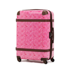 New Women Fashion Printed Luggage Girls Vintage Travel Suitcase Female Universal Wheels Trolley Luggage Bag 20″ 24″ 28″