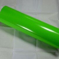 1.52x15 m 3d darmowe pęcherzyki powietrza apple zielony błyszczący winylu filmu owinąć samochód naklejki diy części formy ochrony naklejki