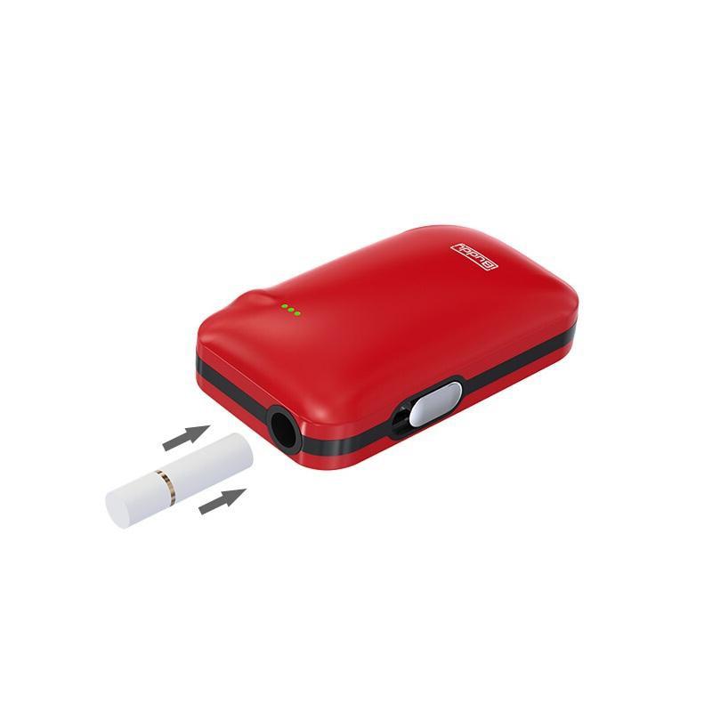 , Original iBuddy i1 Heating Kit Heat not Burn 1800mAh Battery E Cigarette Dry Herbal Vape Vaporizer Innovative Pin-style Box Mod