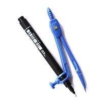 Карандаш ручка иглы для рисования компасы цвет случайный для студентов и офиса цвет случайный