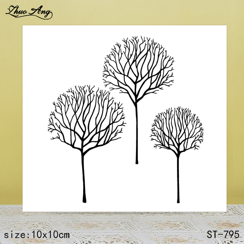ZhuoAng  New ST-795 design transparent seal / sealed DIY scrapbook album decoration card seamless