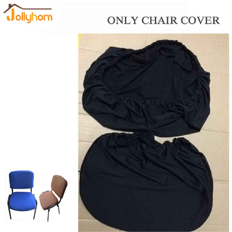 Common size Spandex Stretch office Computer <font><b>chair</b></font> <font><b>cover</b></font> Separate design solid <font><b>Chair</b></font> Protector Slipcover Decor -washable 5 colors