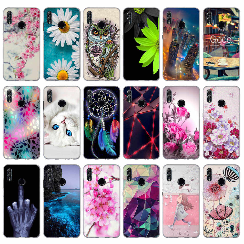 For Huawei Honor 10 Lite Case Cover Soft Silicone Thin TPU Back Cover For Fundas Huawei P Smart 2019 / Honor 10 Lite Phone Case