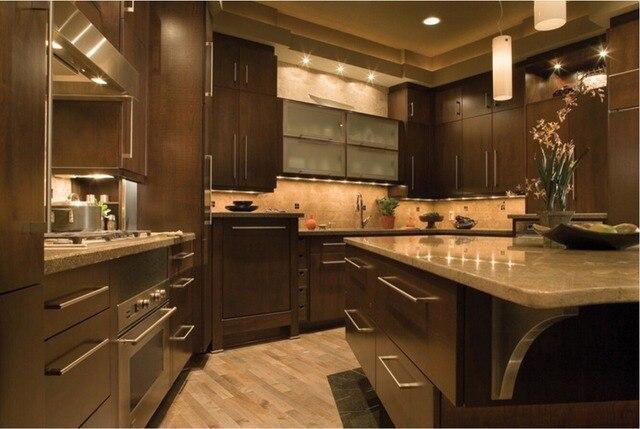 2017 armarios de cocina de madera maciza nuevo diseño blanco ...