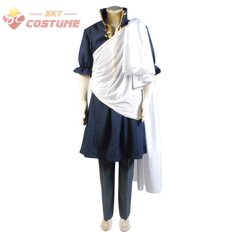 Fairy Tail Zeref Cosplay Costume Halloween Party For Male
