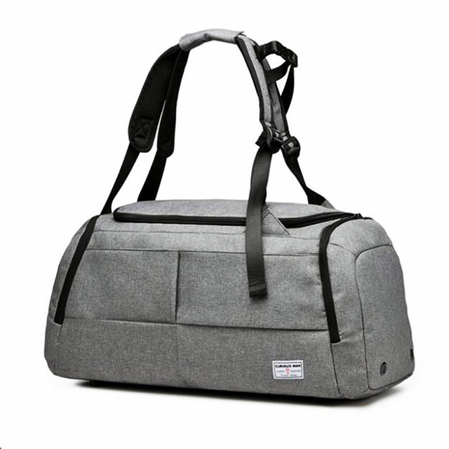 Men Travel Bag For Gym Sport Women Fitness Oxford Waterproof Sports