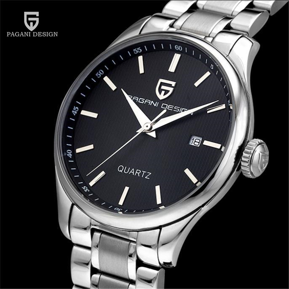 PAGANI DESIGN Watch Mens Watches Top Brand Luxury Quartz Wrist Watch Man Waterproof Clock Men Hours 2017 saat Relogio Masculino luxury brand watch men 2017 classic business dress mens quartz wrist watch relogio masculino waterproof clock man hours casima
