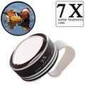Clipe universal 7x telefoto telescópio lente da câmera do telefone para o iphone 6 4 5s telefones celulares samsung lente do telescópio óptico apl-7xst