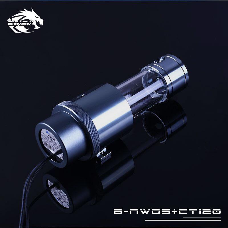 Bykski B-NWD5+CT170 Full Metal Integrated Reservoir Pump XSPC D5 1500L Gray